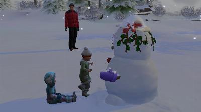 75 Phil, Ellie, Annie und der Schneemann.jpg