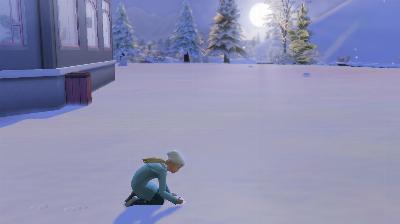 114 Ellie alleine im Schnee.png
