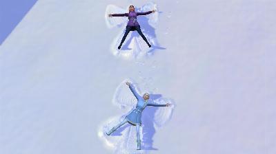 50 Die Schwestern machen Schneeengel.jpg
